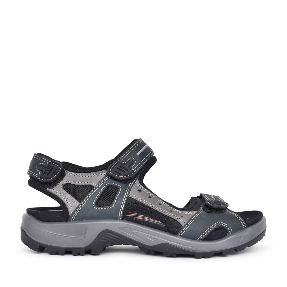 69564 OFFROAD CASUAL VELCRO WALKING SANDAL FOR MEN in BLUE