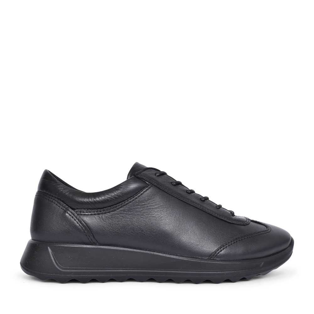 292333 FLEXURE CASUAL LACED SHOE FOR LADIES in BLACK