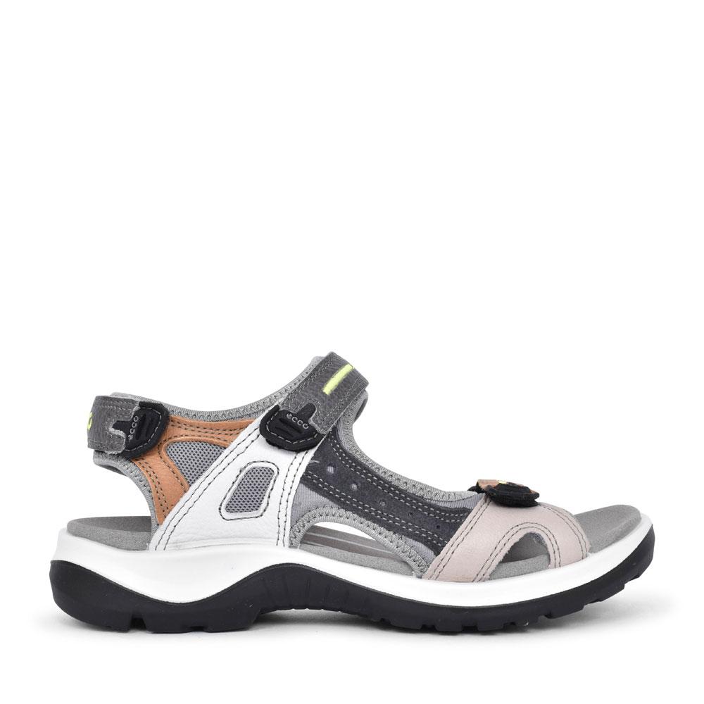 LADIES 822083 OFFROAD VELCRO WALKING SANDAL in GREY