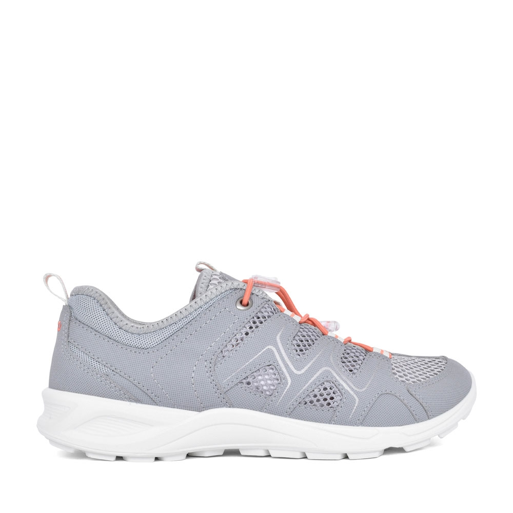 LADIES 825773 TERRACRUISE LACED TRAINER in SILVER