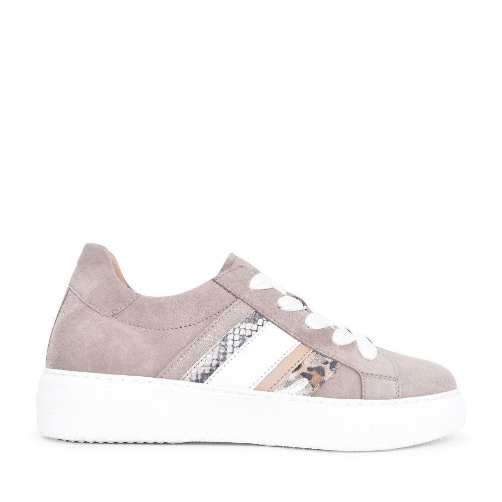 LADIES SCENIC 43.311 CASUAL LACED SHOE in TAUPE