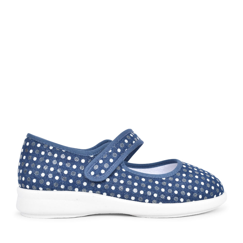 LATISHA EV CANVAS MARY JANE SHOE in NAVY
