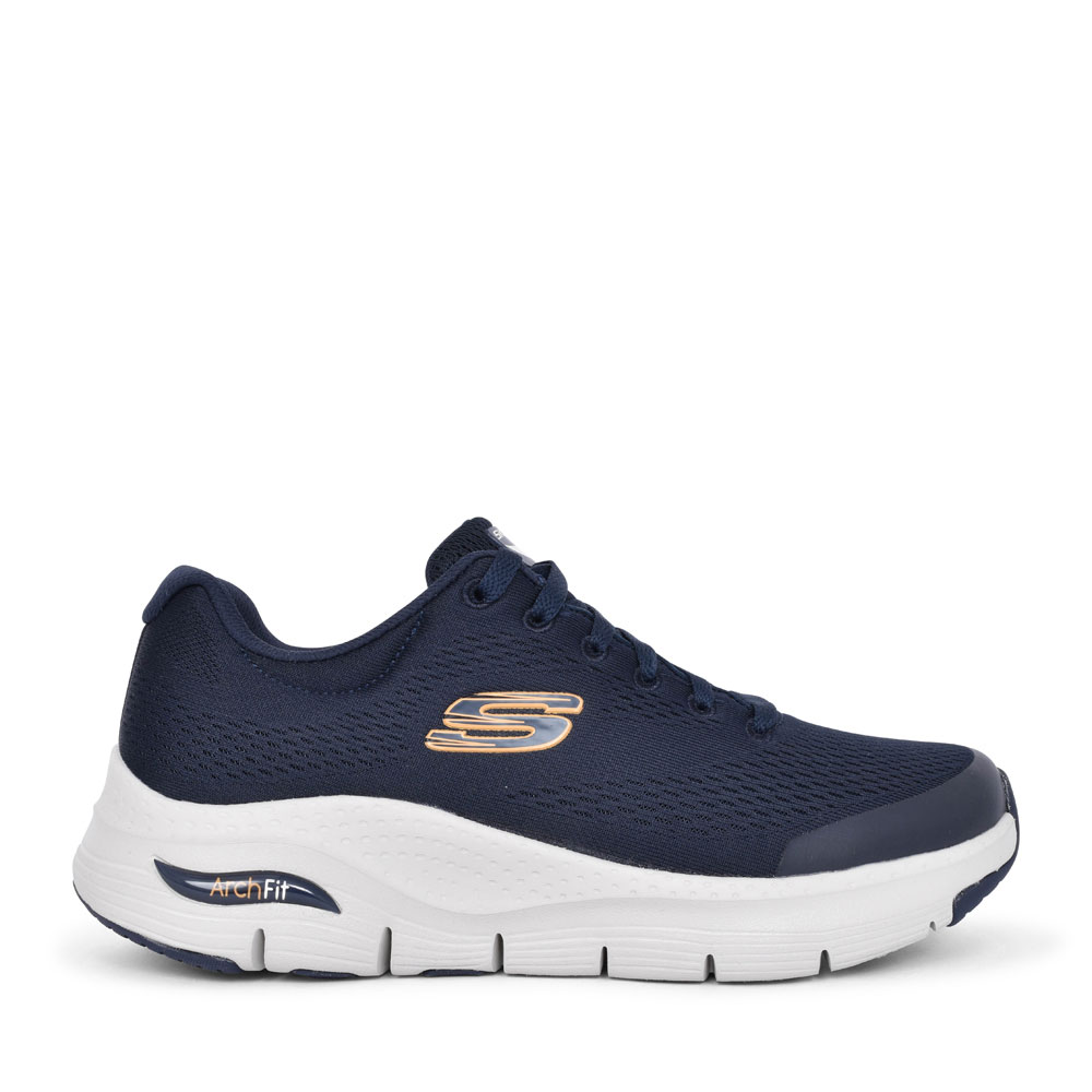MEN'S 232404 ARCH FIT LACED TRAINER in NAVY