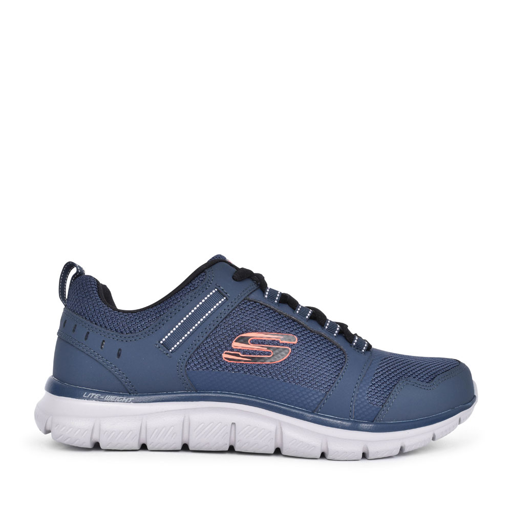 MEN'S 232001 TRACK KNOCKHILL LACED TRAINER in NAVY