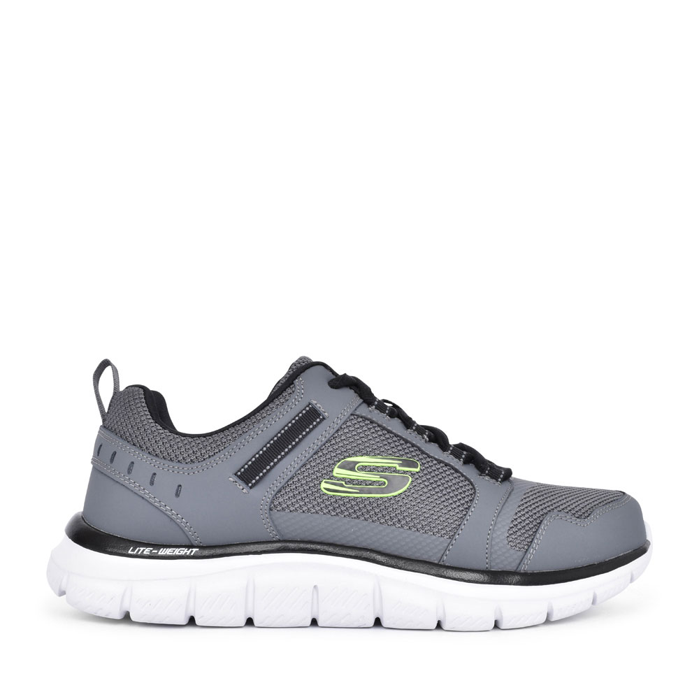MEN'S 232001 TRACK KNOCKHILL LACED TRAINER in GREY