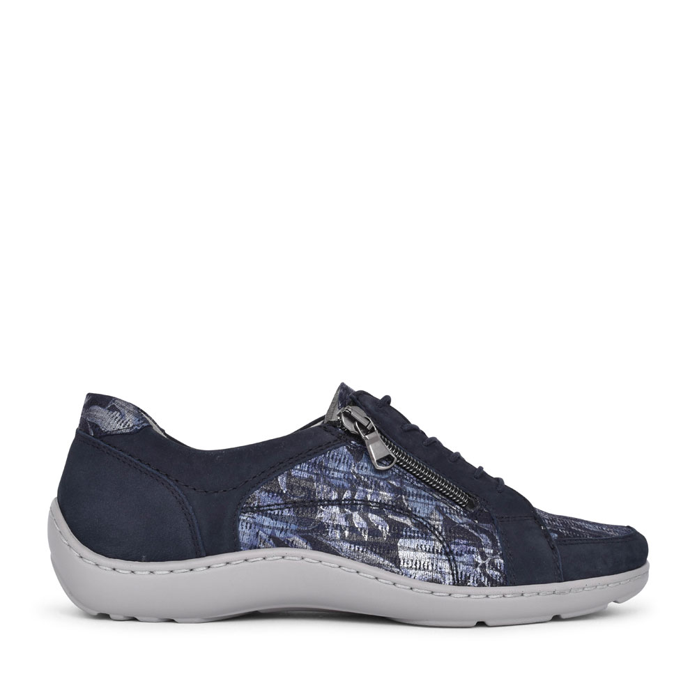 496042 HENNI CASUAL LACED SHOE FOR LADIES in NAVY