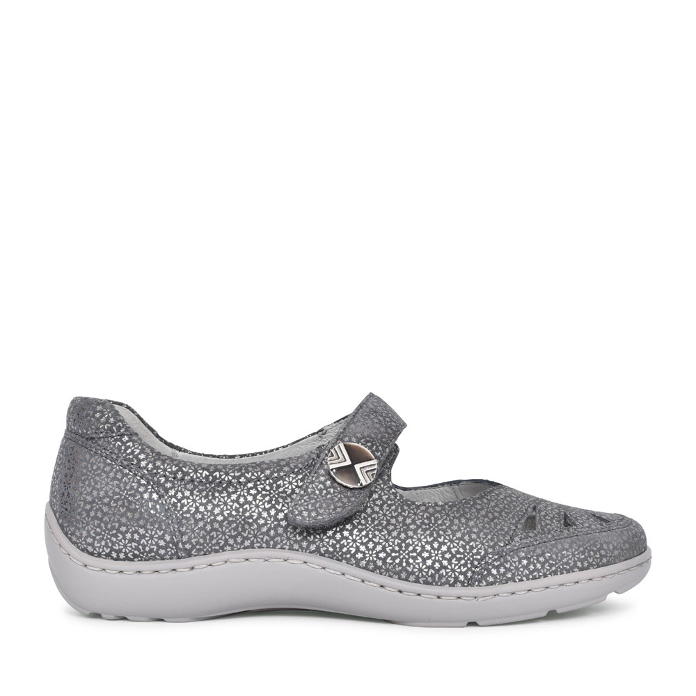 496309 HENNI MARY-JANE SHOE FOR LADIES in GREY