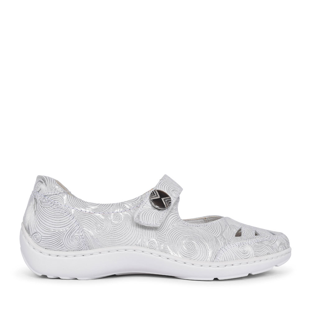 496309 HENNI MARY-JANE SHOE FOR LADIES in WHITE