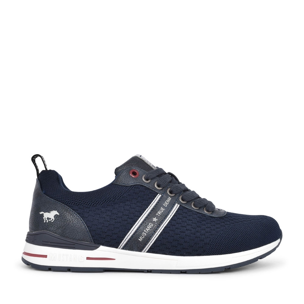 MEN'S 4154305 CASUAL LACED SHOE in NAVY
