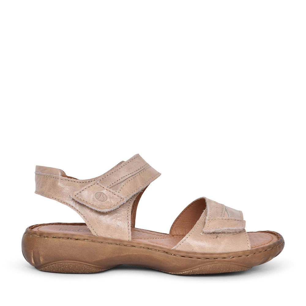 LADIES 76719 DEBRA 19 VELCRO SANDAL in BEIGE