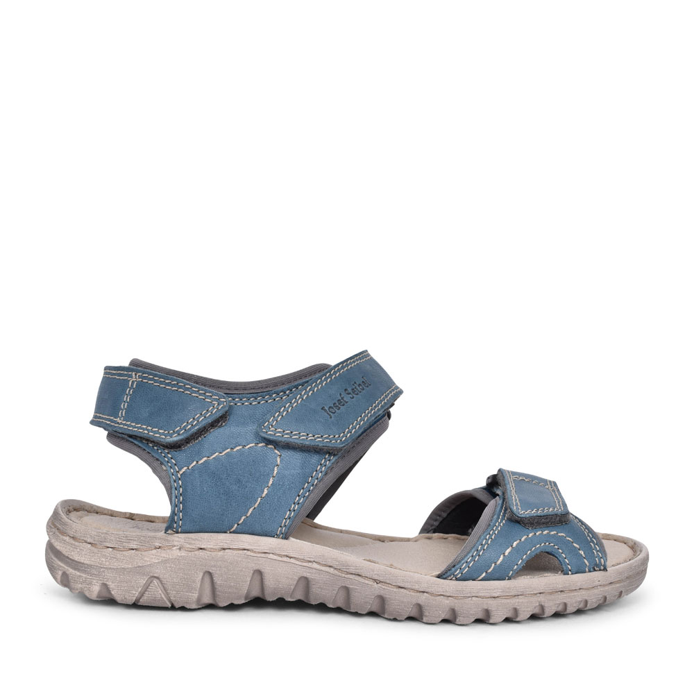 LADIES 63815 LUCIA 15 VELCRO WALKING SANDAL in BLUE