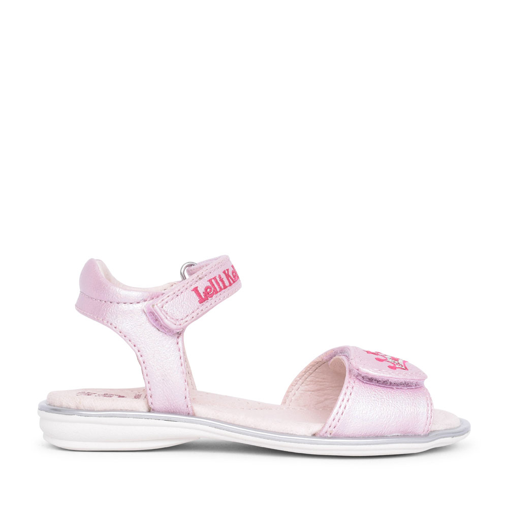 LK1510 RITA FULLY ADJUSTABLE SANDAL FOR GIRLS in PINK