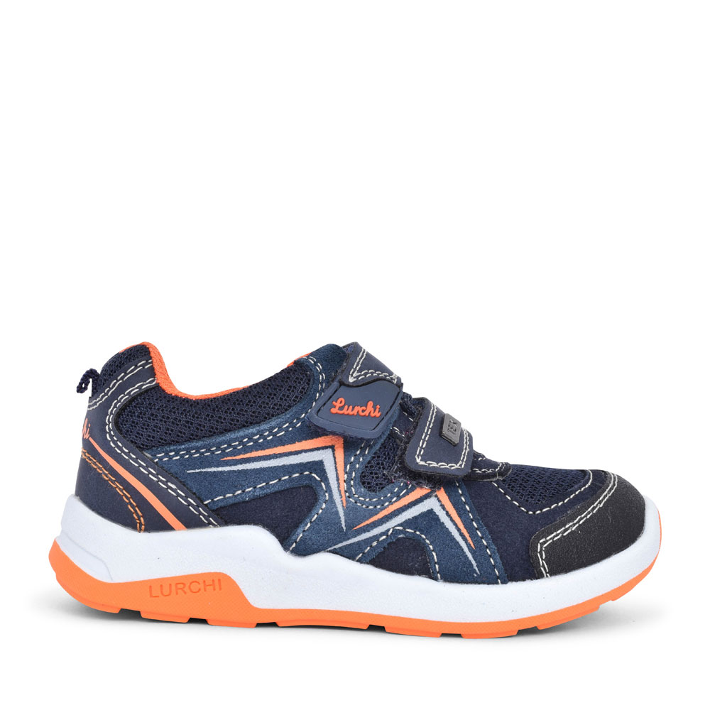 33-23415 DOUBLE VELCRO TRAINER FOR BOYS in NAVY