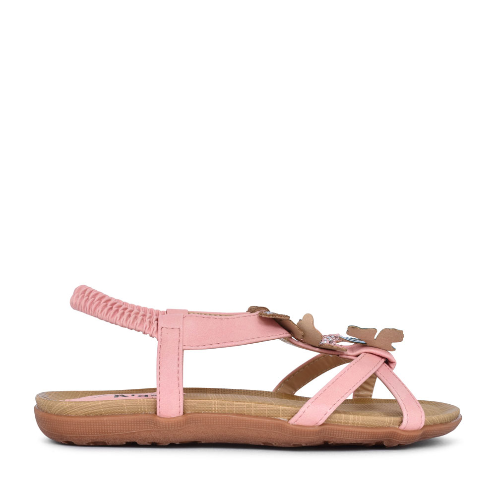 GIRLS INDIA JCH007 BUTTERFLY SANDAL in PINK