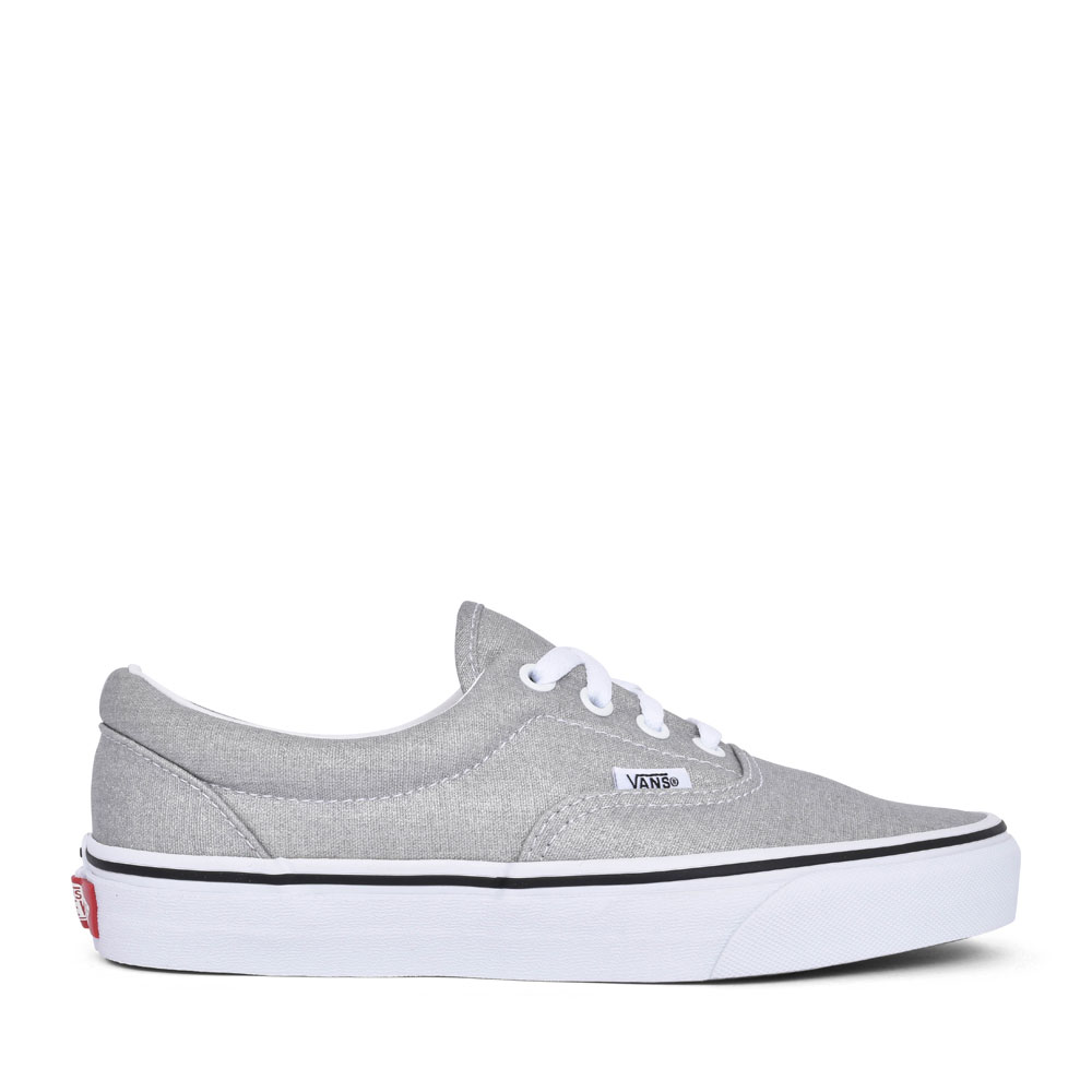 LADIES ERA CASUAL LACED TRAINER in SILVER