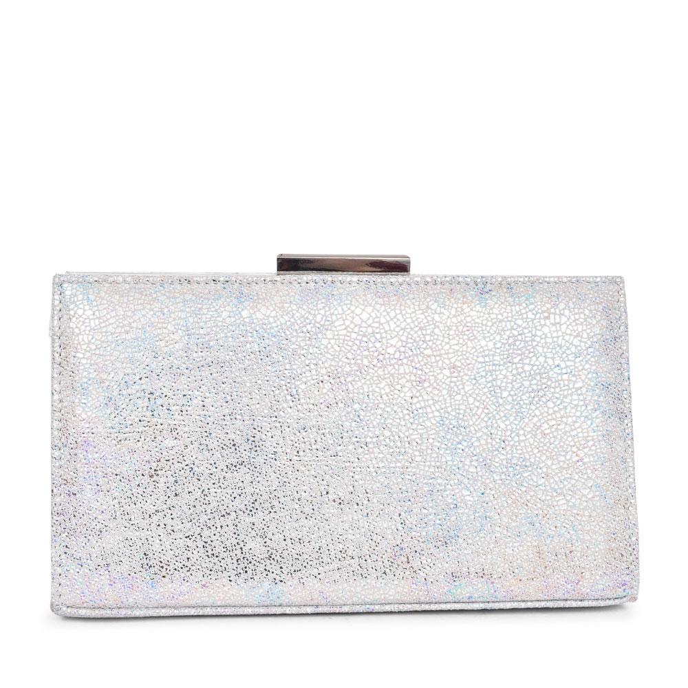 LADIES 2522060 ZINNIA CLUTCH BAG in WHITE