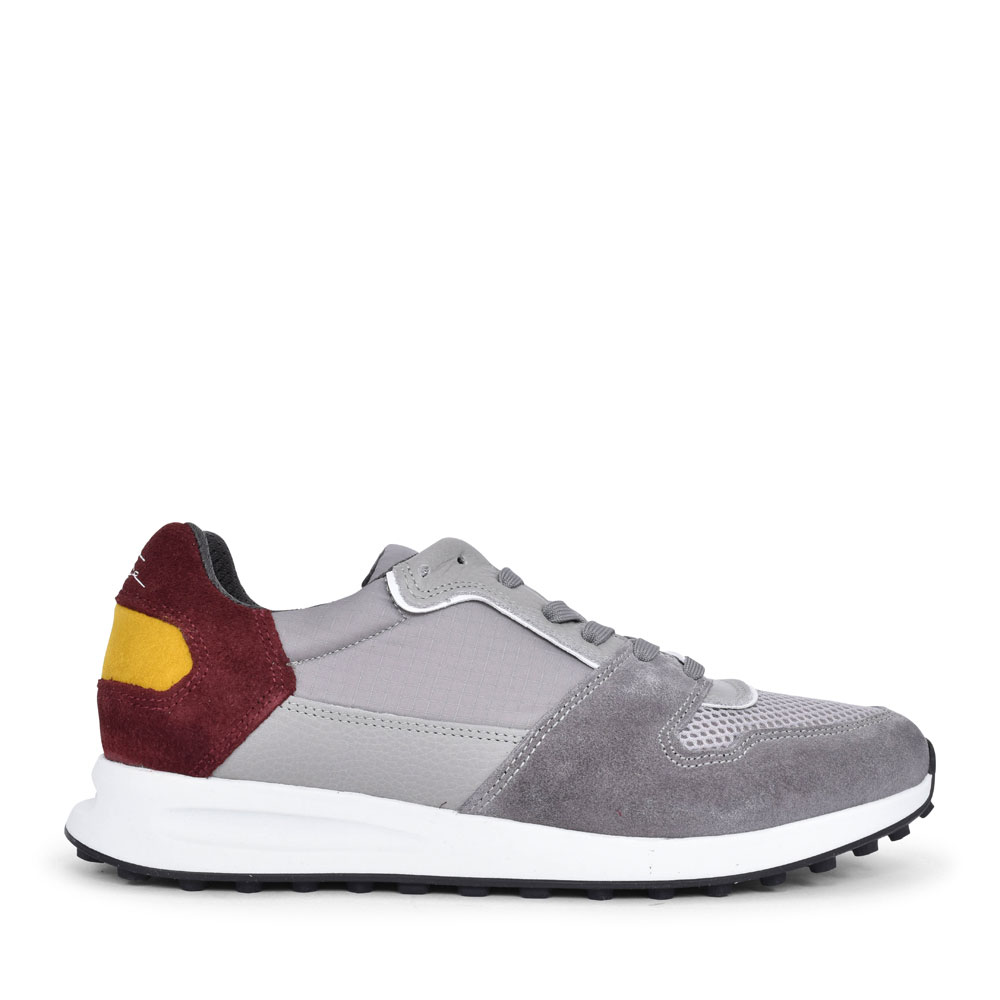 MEN'S THURSTON CASUAL LACED TRAINER  in GREY