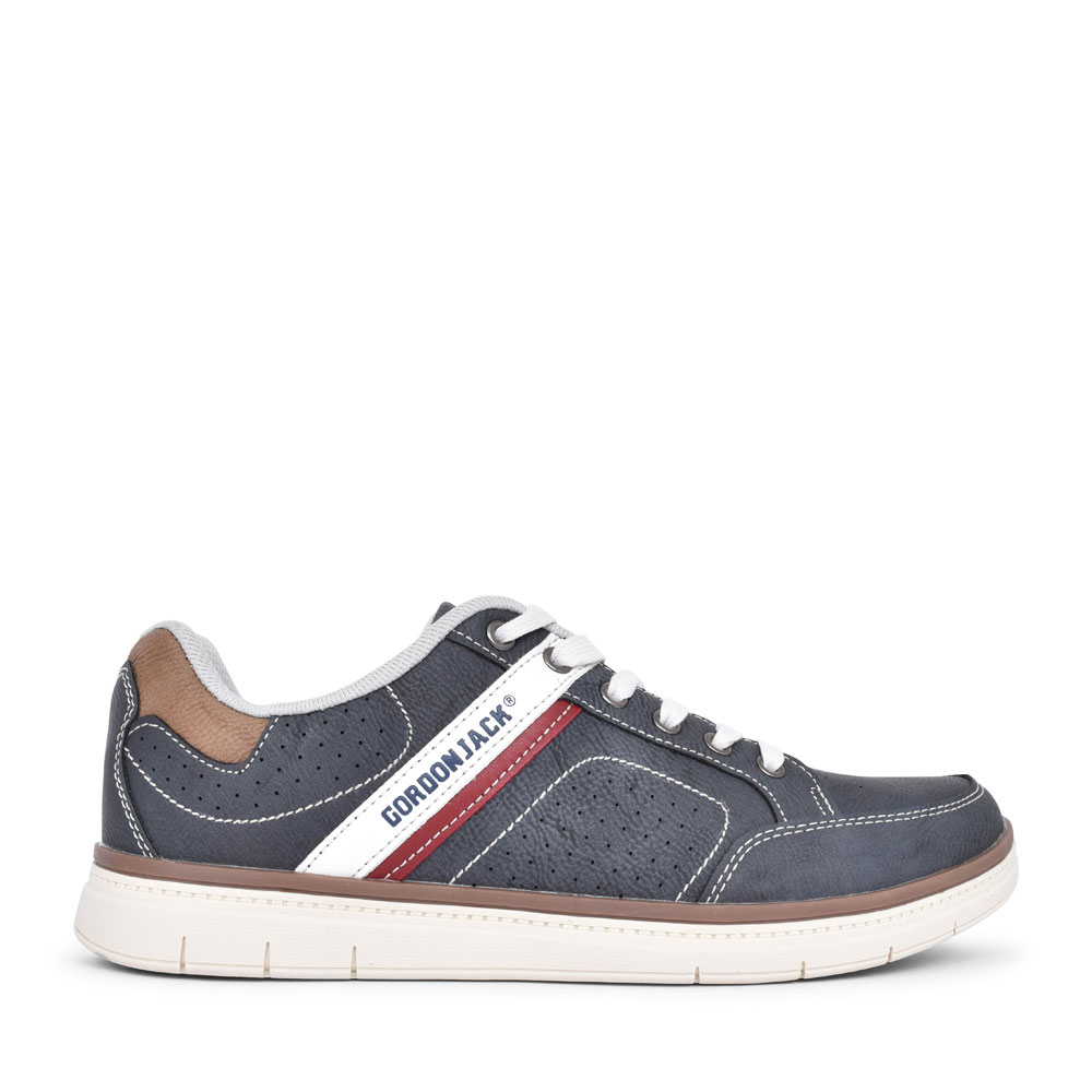 MEN'S NEW YORK LACED TRAINER in NAVY