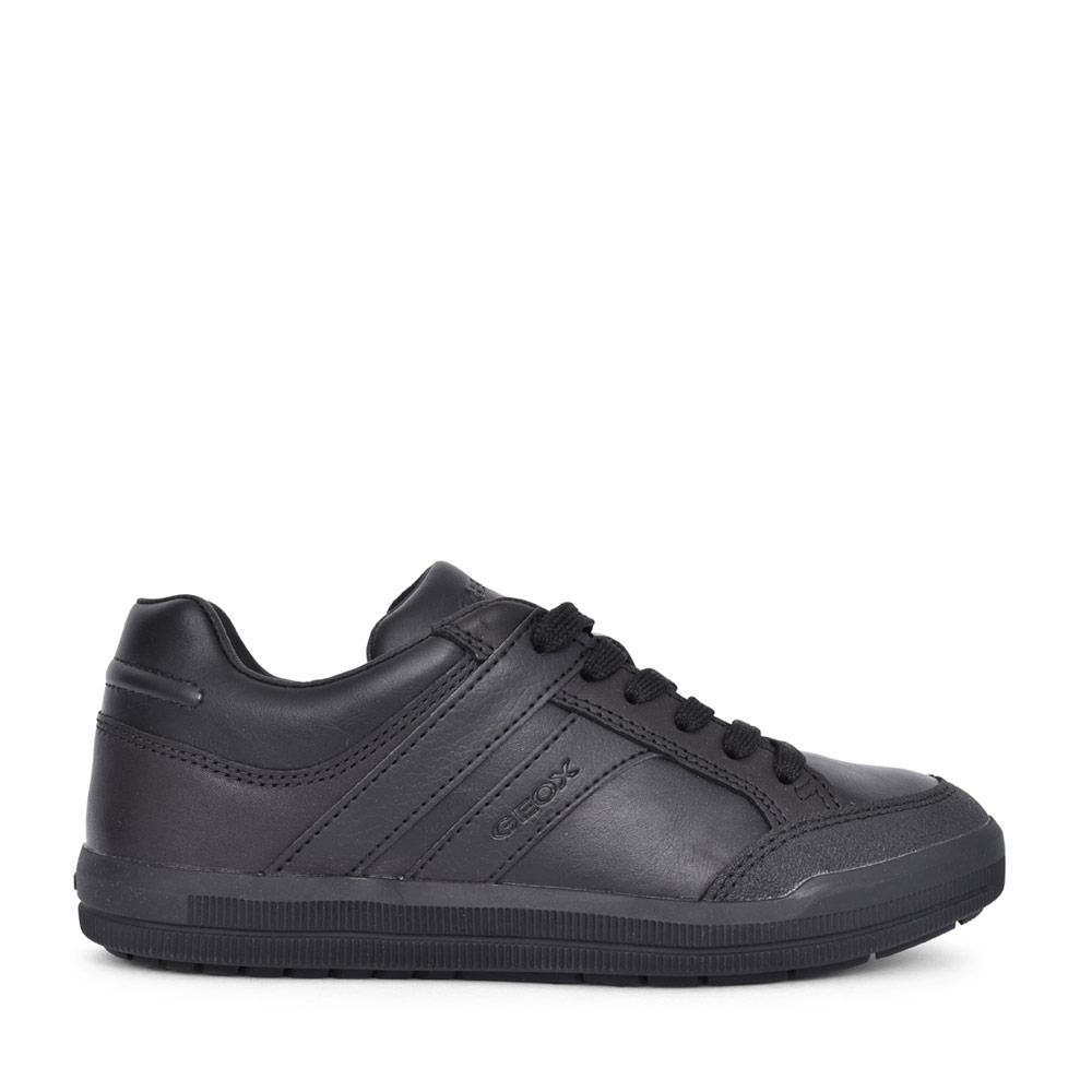 BOYS J844AD ARZACH LACED SHOE in BLK LEATHER