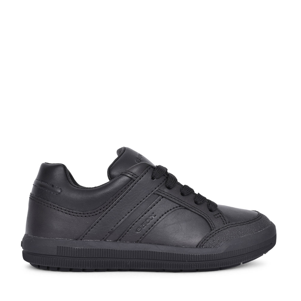 BOYS J844AE ARZACH LACED SHOE in BLK LEATHER