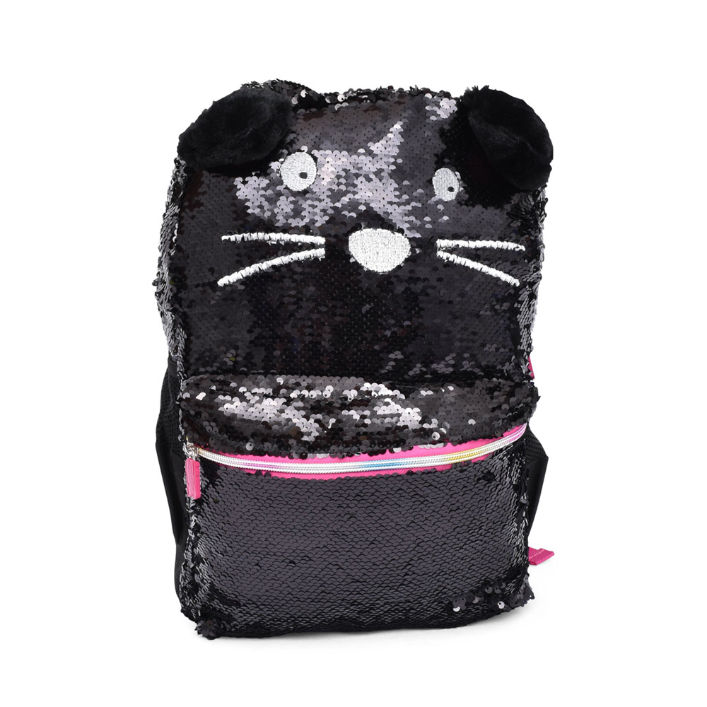 GIRLS 34F297 ANIMAL SEQUENCE BACKPACK in BLACK