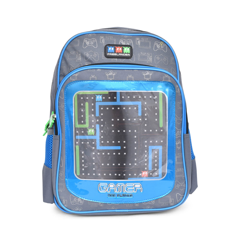 BOYS 34F309 GAMER BACKPACK in GREY