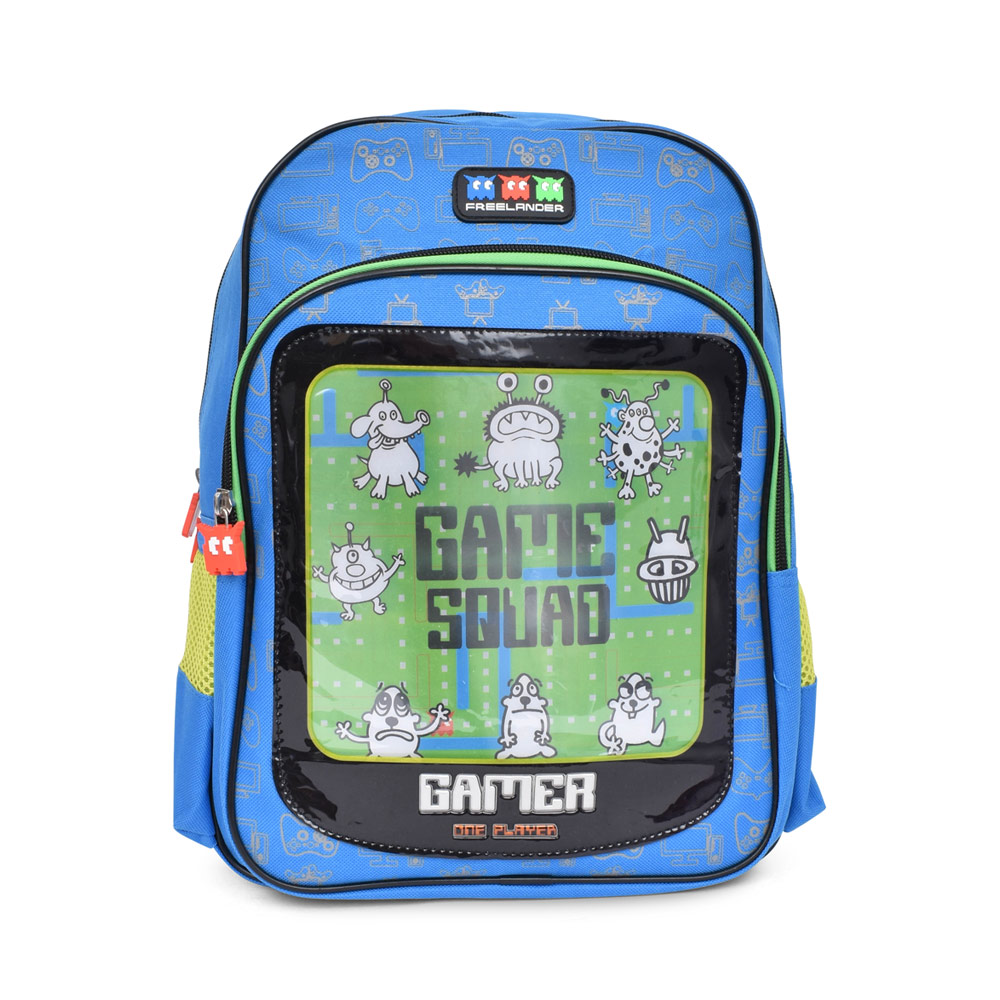 BOYS 34F309 GAMER BACKPACK in BLUE