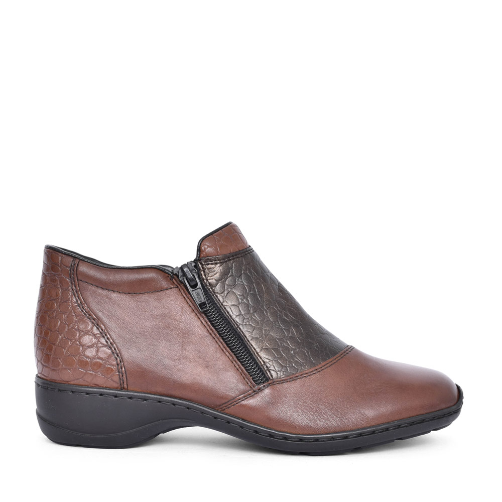 LADIES 58359 ANKLE BOOT in BROWN