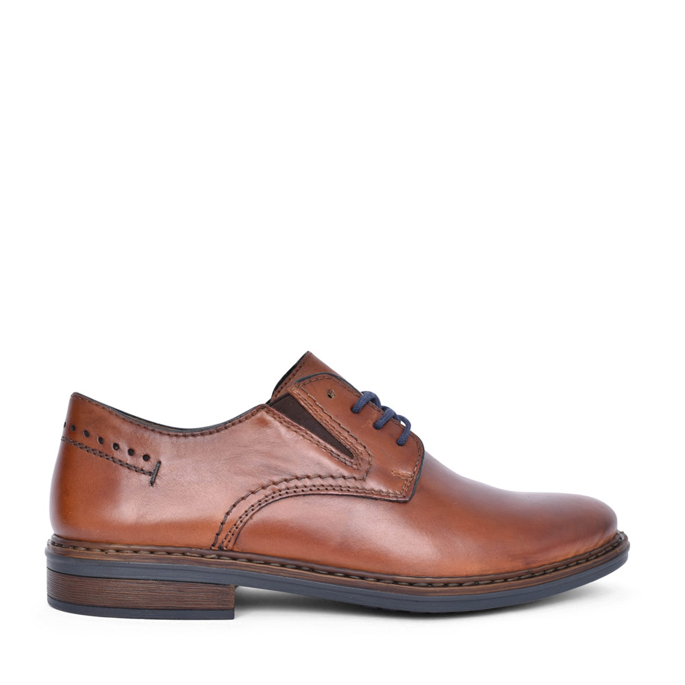 MENS 17611 LACED OXFORD SHOE in TAN