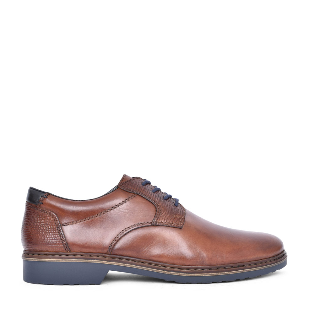 LACED OXFORD SHOE in BROWN