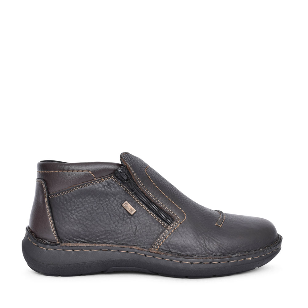 MENS 03072 TEX SLIP ON ANKLE BOOT in BROWN