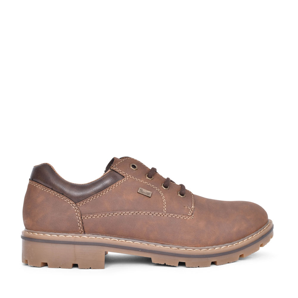 MENS 14020 TEX CASUAL LACED SHOE in TAN