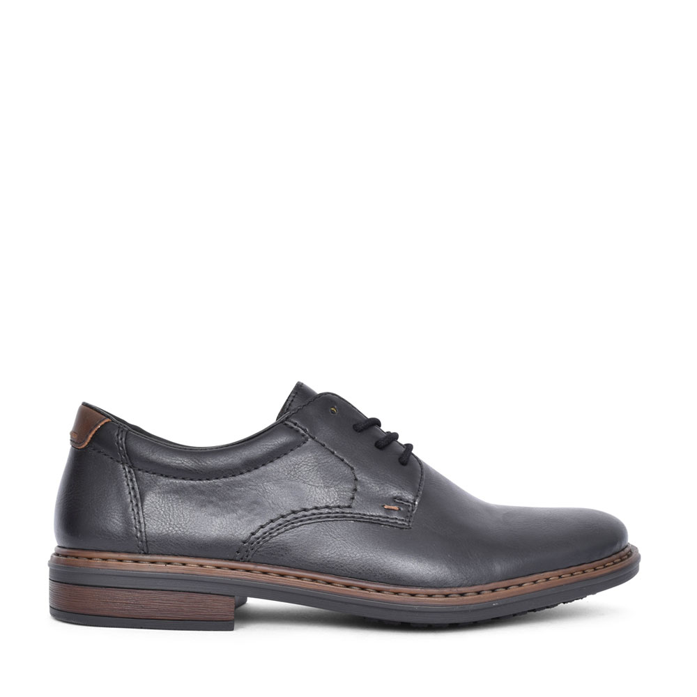 MENS 17619 LACED OXFORD SHOE  in BLACK