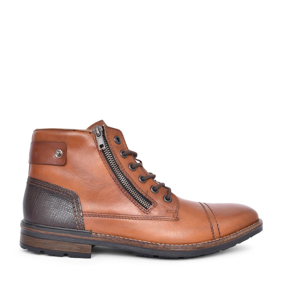 MENS F1340 ANKLE BOOT in TAN