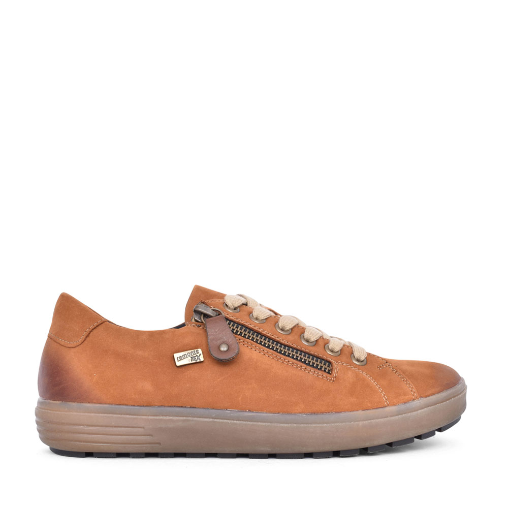 LADIES D4400 LACED SHOE in TAN
