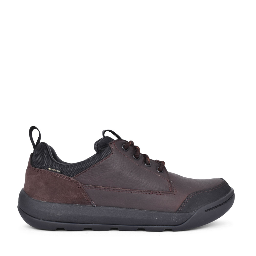 MENS ASHCOMBELOGTX LEATHER G FIT LACED SHOE in BROWN