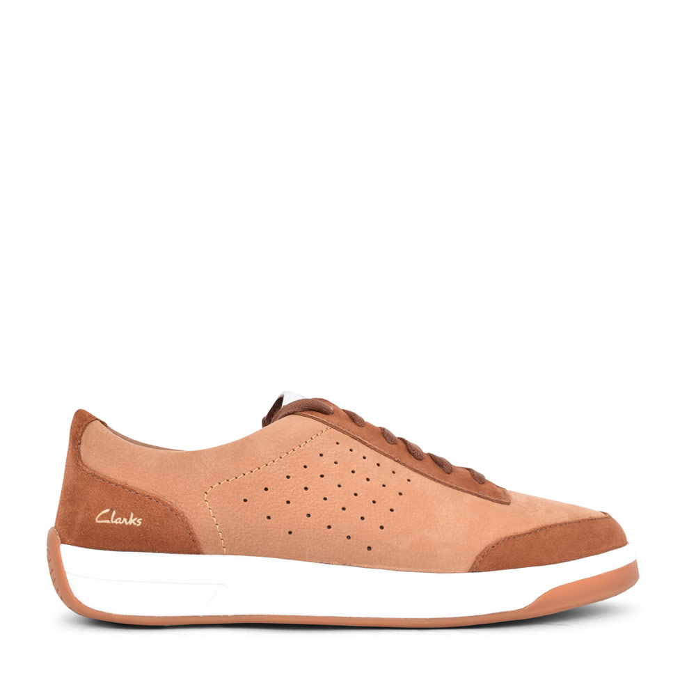 MENS HERO AIR G FIT LACED TRAINER in TAN