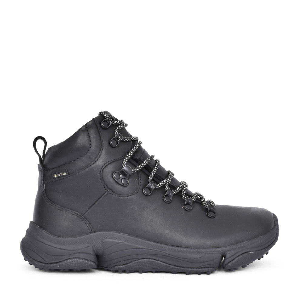 MENS TRIPATH HI GTX LEATHER G FIT LACED WALKING BOOT in BLACK