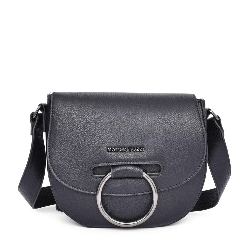 LADIES 2-61108 CROSSBODY BAG in BLACK