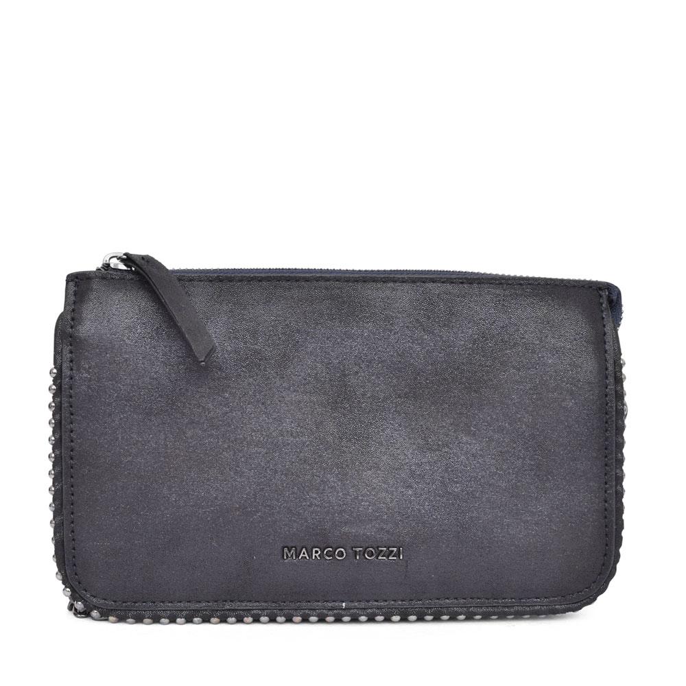 LADIES 2-61109 CHAIN STRAP CROSSBODY BAG in BLACK
