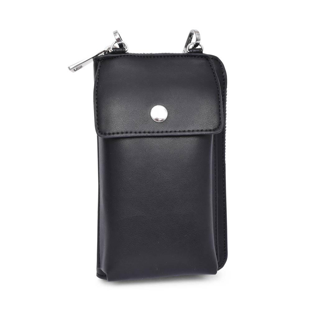 LADIES 2-66141 SMALL CROSSBODY BAG in BLACK