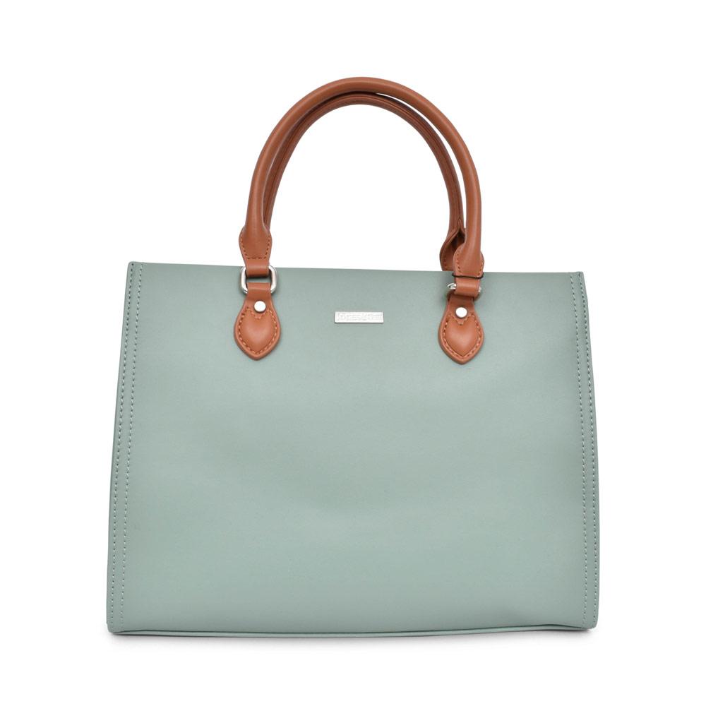 LADIES 30100 CASTILLA SHORT HANDLED BAG in GREEN