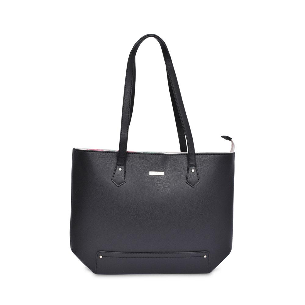 LADIES 30102 SAFIYA SHOPPER BAG in BLACK