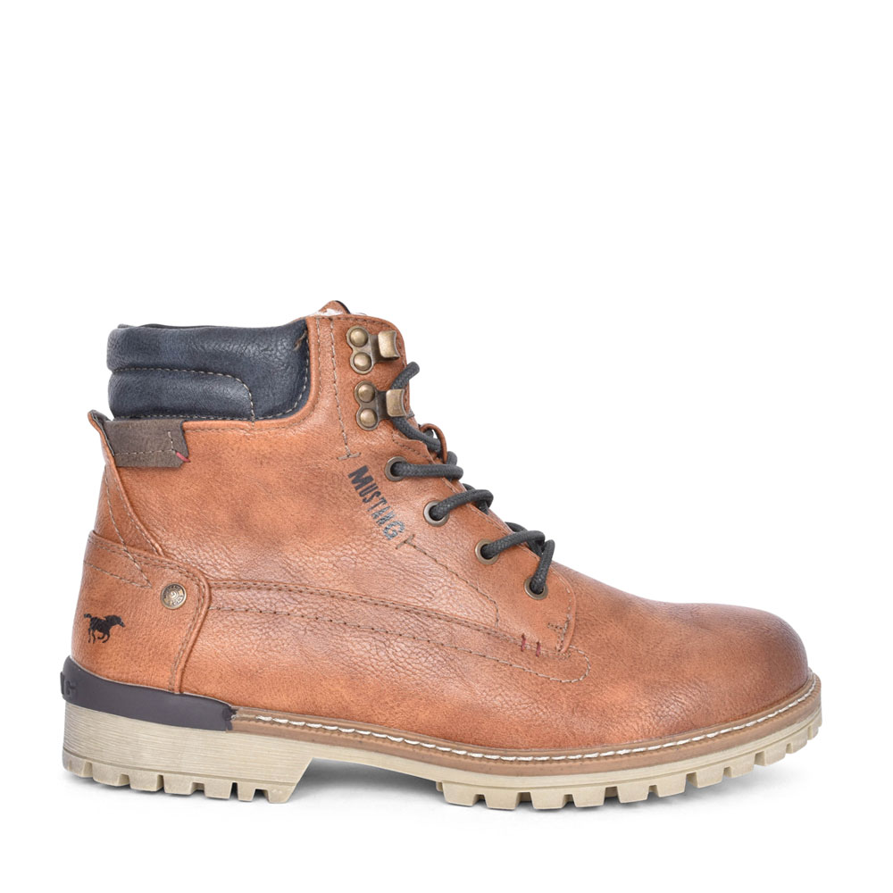 MENS 4142602 LACED BOOT in TAN