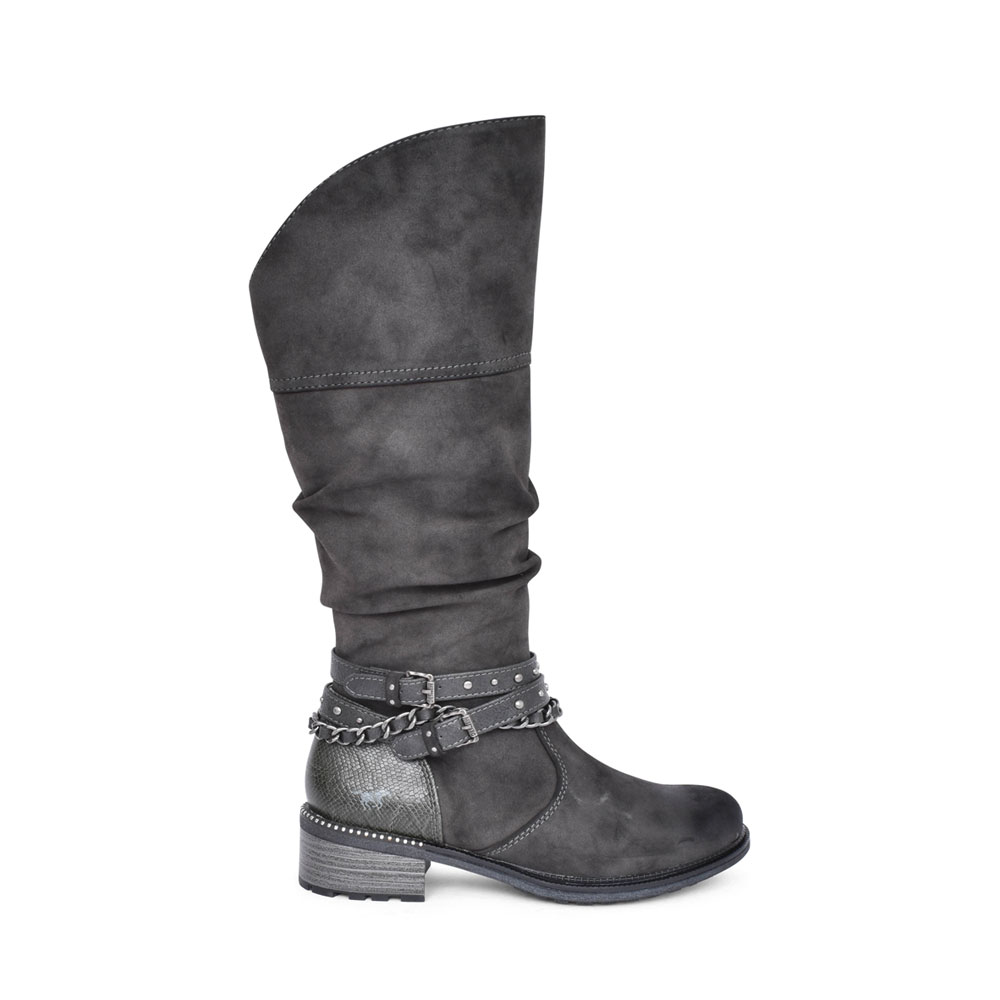 LADIES 1370501 LONG LEG BOOT in DARK GREY