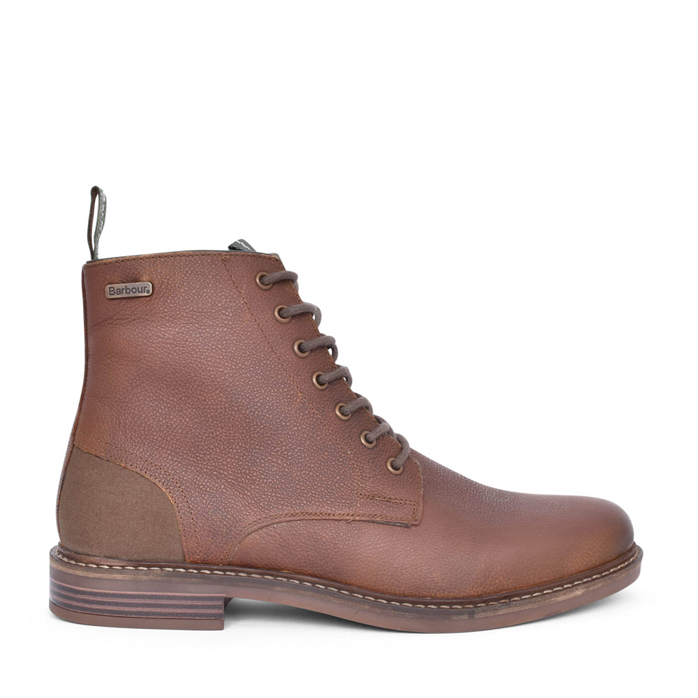 MENS SEAHAM LACED ANKLE BOOT in BROWN