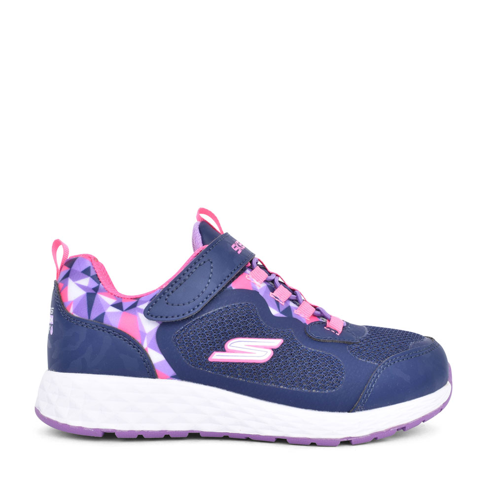 GIRLS 302418L CASUAL VELCRO TRAINER in NAVY