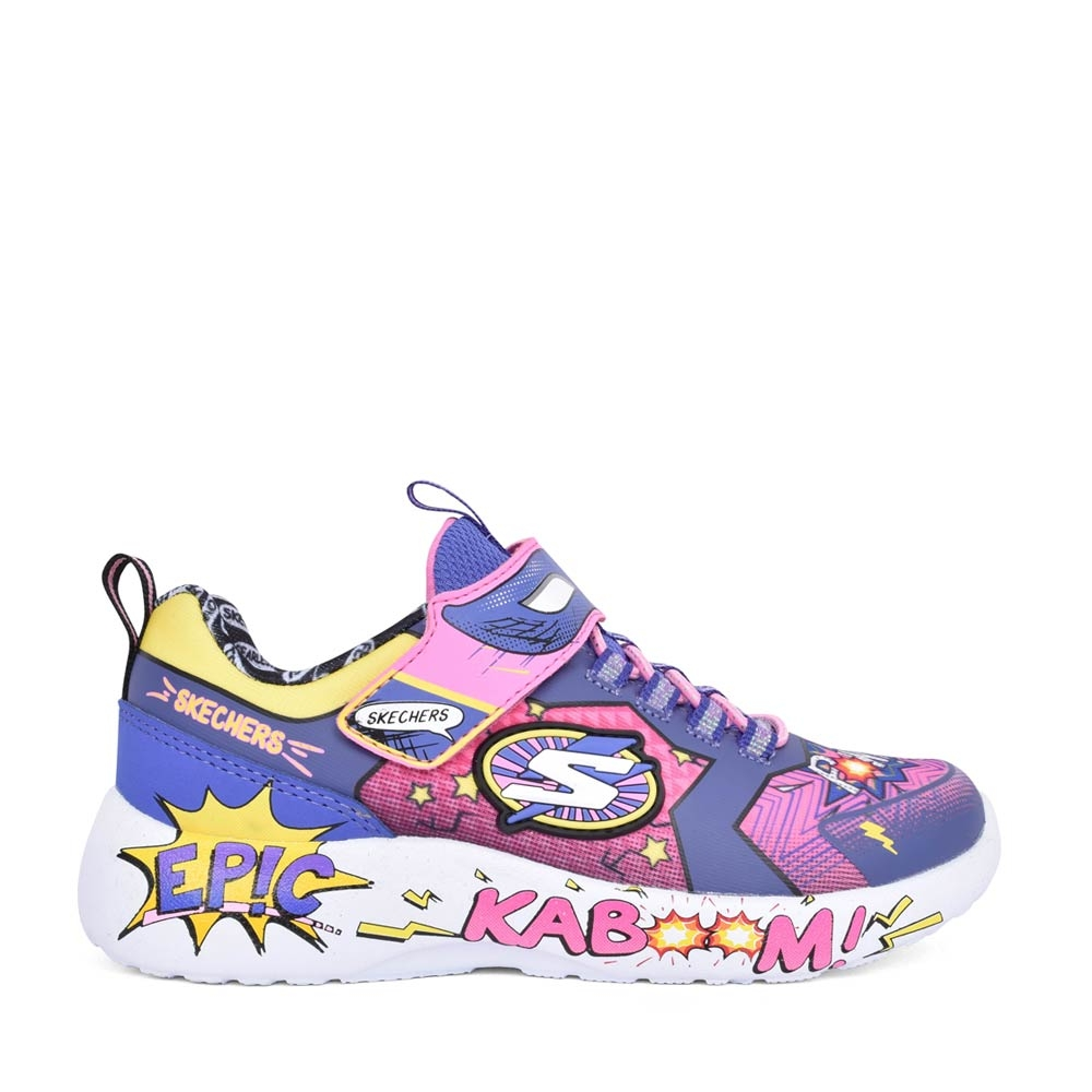 GIRLS 302204L DYNAMIGHT VELCRO TRAINER in PINK