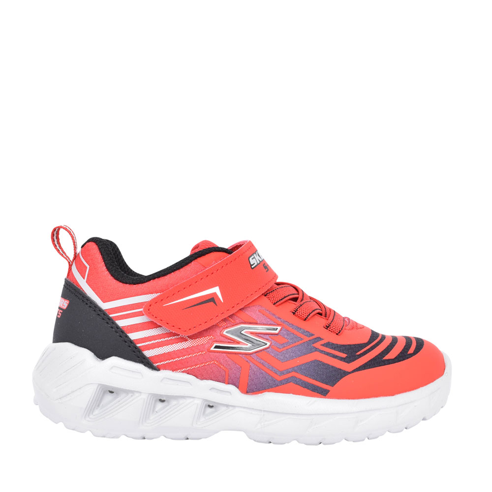BOYS 401500N MAGNA LIGHTS VELCRO TRAINER in RED
