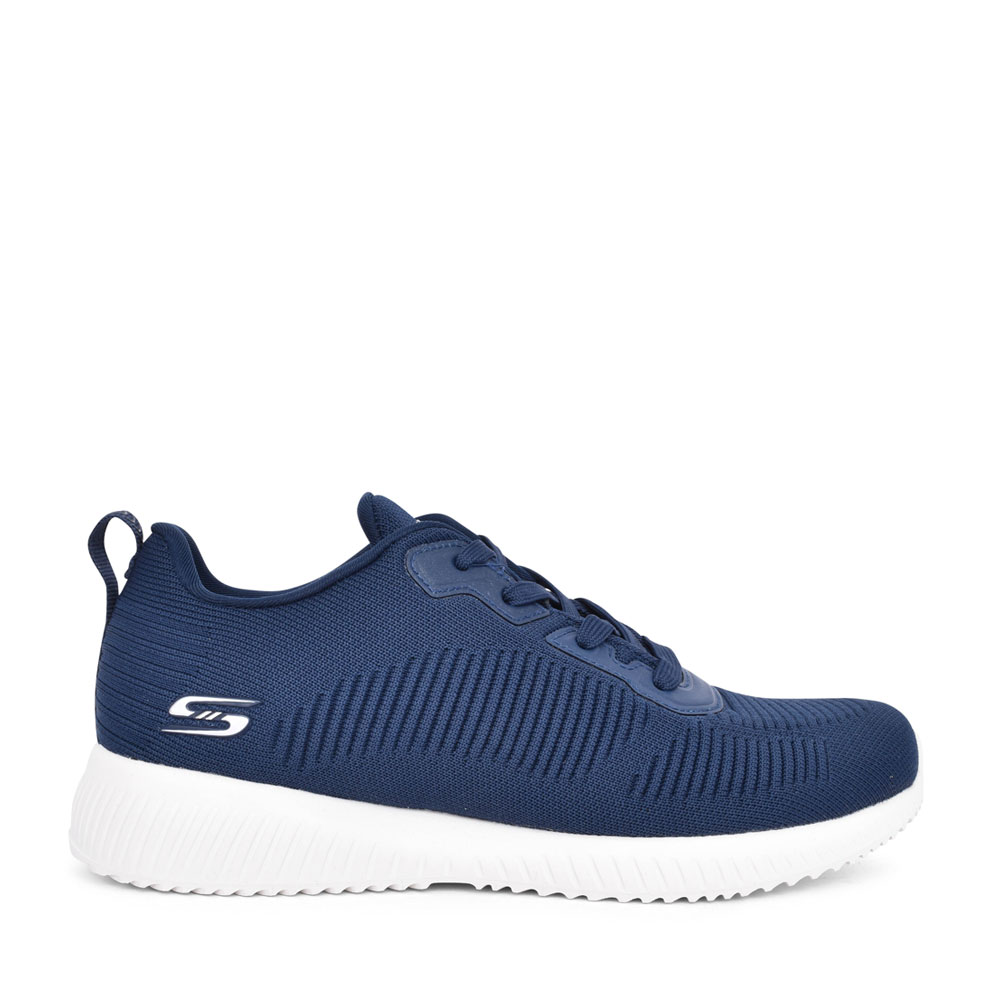 LADIES 32504 BOBS SQUAD LACED TRAINER in NAVY